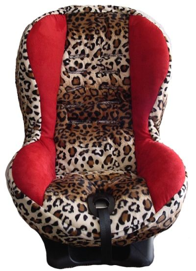 girly car accessories red childs red and leopard print toddler car seat cover boy car seat. Black Bedroom Furniture Sets. Home Design Ideas