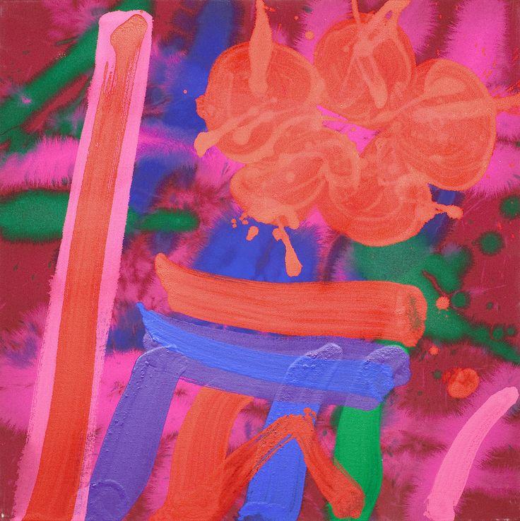 Albert Irvin - Red Path
