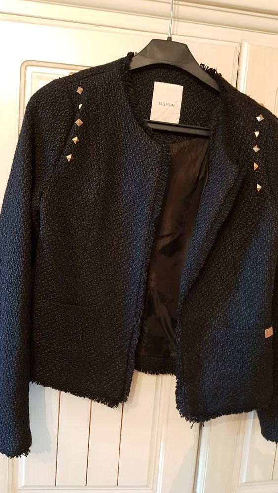 BNWOT Dimensions mens black Waistcoat size Small