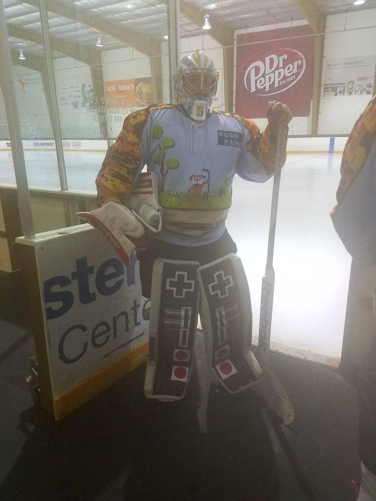 NES Beer League Hockey Goalie Equipment (xpost from r/Hockey)