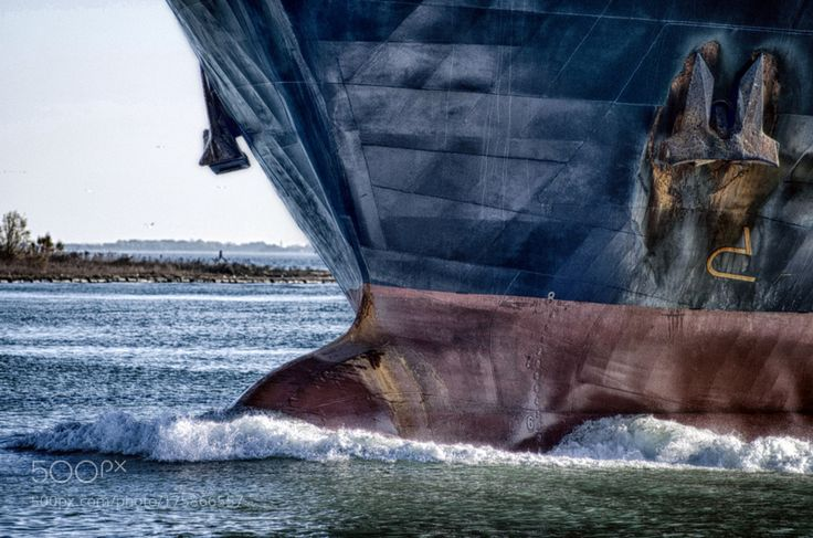 Bulbous bow by AlbertoMare with ShipBow
