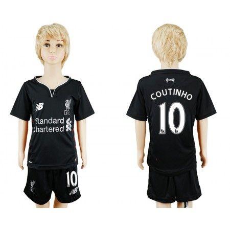 Liverpool Trøje Børn 16-17 Philippe #Coutinho 10 Udebanesæt Kort ærmer.199,62KR.shirtshopservice@gmail.com
