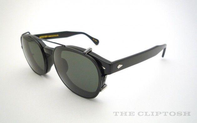 MOSCOT Lemtosh Clip-on CLIPTOSH Sunglasses Selectism ...