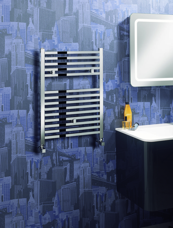 Magnum 500 X 690 Chrome Heated Towel Rail From Crosswater