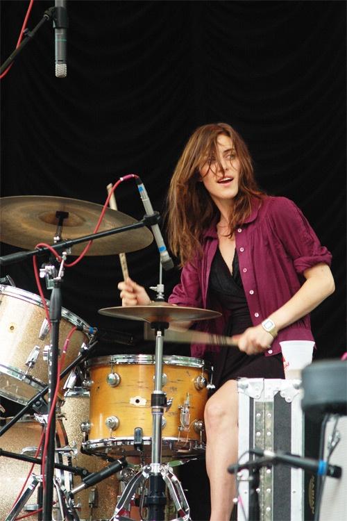 drummers <3 Leslie Feist
