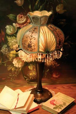 Spearmint Lamp Shade