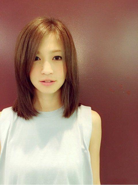 清楚なミディアムがステキ♡安田美沙子さんの髪型一覧です♡