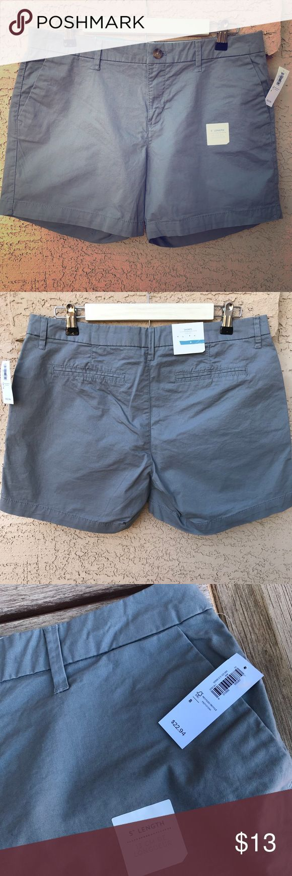 """🆕 Old Navy Solid Gray Women's Shorts NWT Size 8 Super cute solid gray Old Navy shorts, brand new with tags, size 8 with a 5"""" inseam. The overall width at the top opening is about 17"""" wide. Please inspect photos and message with questions! Thanks for looking.  Old Navy Solid Gray Shorts NWT Size 8  © 2018 YUNADEE STUDIO ALL RIGHTS RESERVED Old Navy Shorts"""