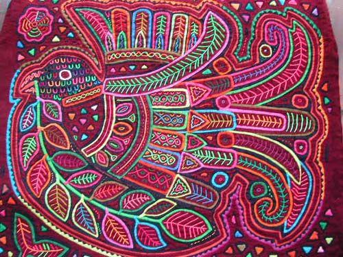 molas coloridas colombianas - Google-Suche