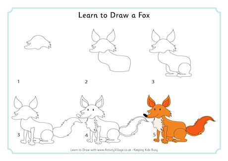 Learn to draw animals for kids book