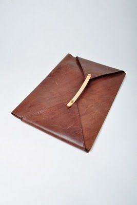 Cornelian Taurus Brown Leather Folder