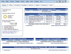 NolaPro Free Accounting Software: NolaPro Free Accounting Features