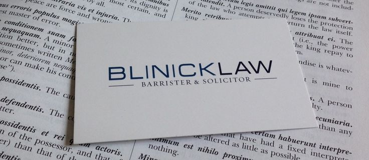 Lawyer - General Practice - Jesse Blinick is an independent lawyer, but is truly fantastic.  Tell him Loyoly sent you! Toronto based lawyer practicing Wills & Estates, Business Law, and Residential Real Estate Law