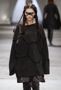 Zambesi. Post-apocalypse fashion /post-apocalyptic clothing / makeup / wear / dystopian / women's fashion/ looks / style / female