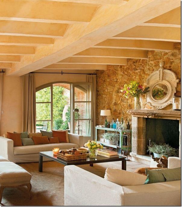 17 migliori idee su interni di casa di campagna su for Migliori piani di casa artigiano