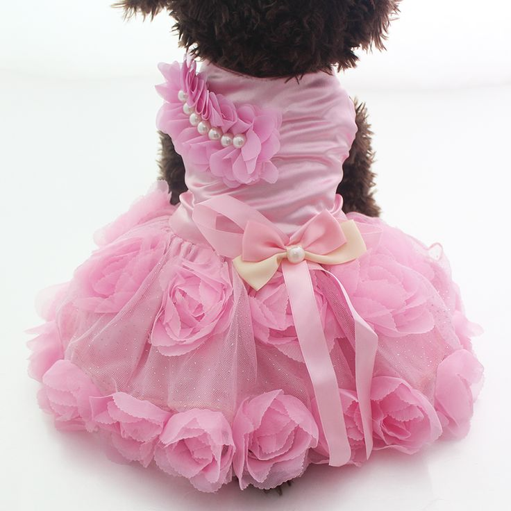 New arrival Pet Dog Princess Dress Tutu Rosette&bow Dresses Cat Puppy Skirt clothes  2 colours // FREE Shipping //     Get it here ---> https://thepetscastle.com/new-arrival-pet-dog-princess-dress-tutu-rosettebow-dresses-cat-puppy-skirt-clothes-2-colours/    #hound #sleeping #puppies