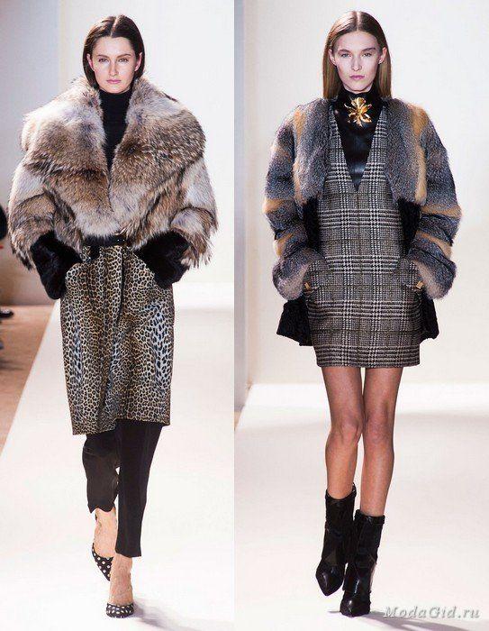 Мода и стиль: Меховая мода осень-зима 2013-2014