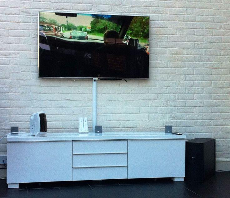 Soporte de televisor instalado en la pared en la localidad de Suba ,soporte de televisor fijo