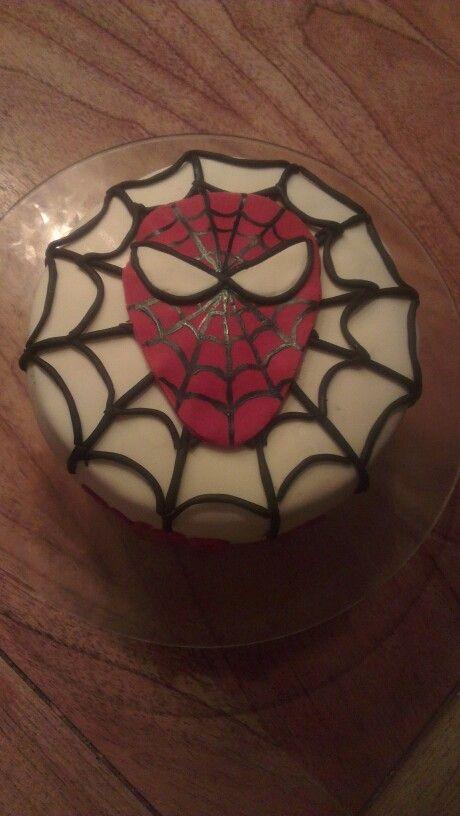 Spiderman taart voor mijn oudste zoon !