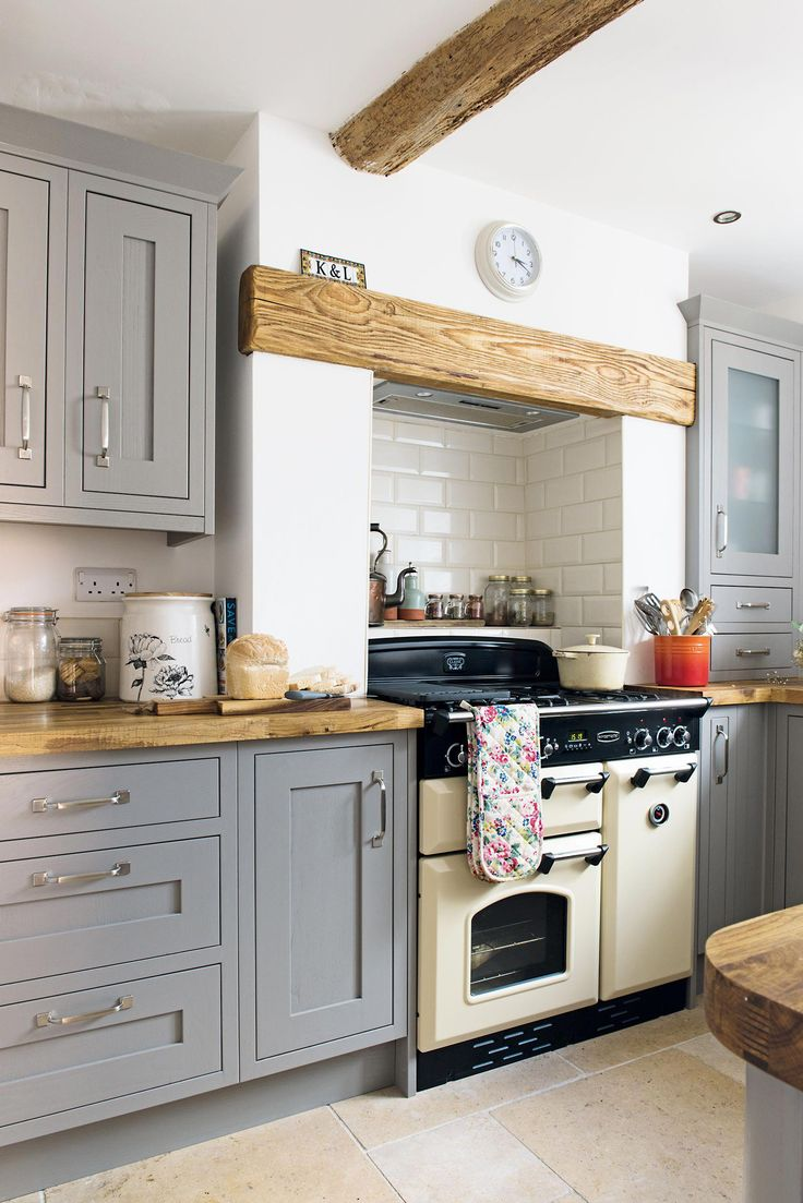 B&Q Cooke & Lewis shaker kitchen in grey Home decor