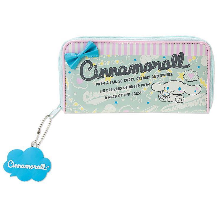 Cinnamoroll Long Wallet SANRIO JAPAN Logo