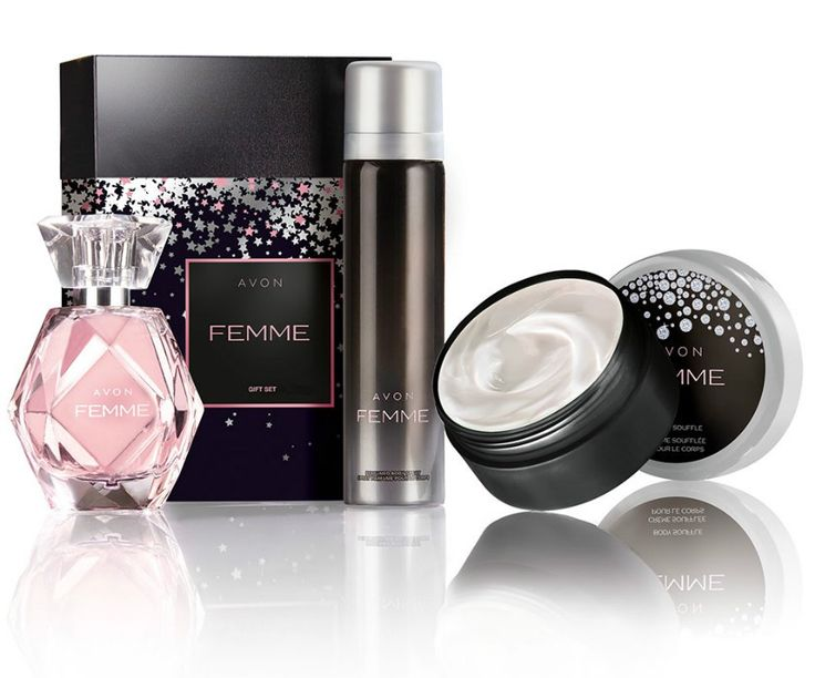 Zestaw upominkowy Avon Femme
