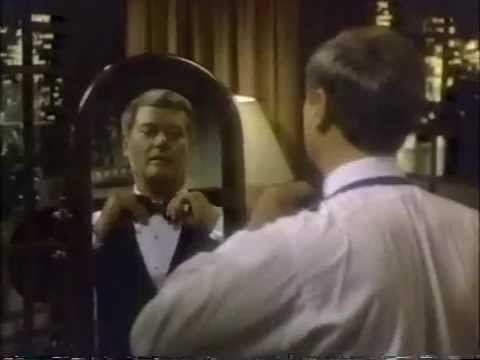 Larry Hagman 1983 BVD Underwear Commercial