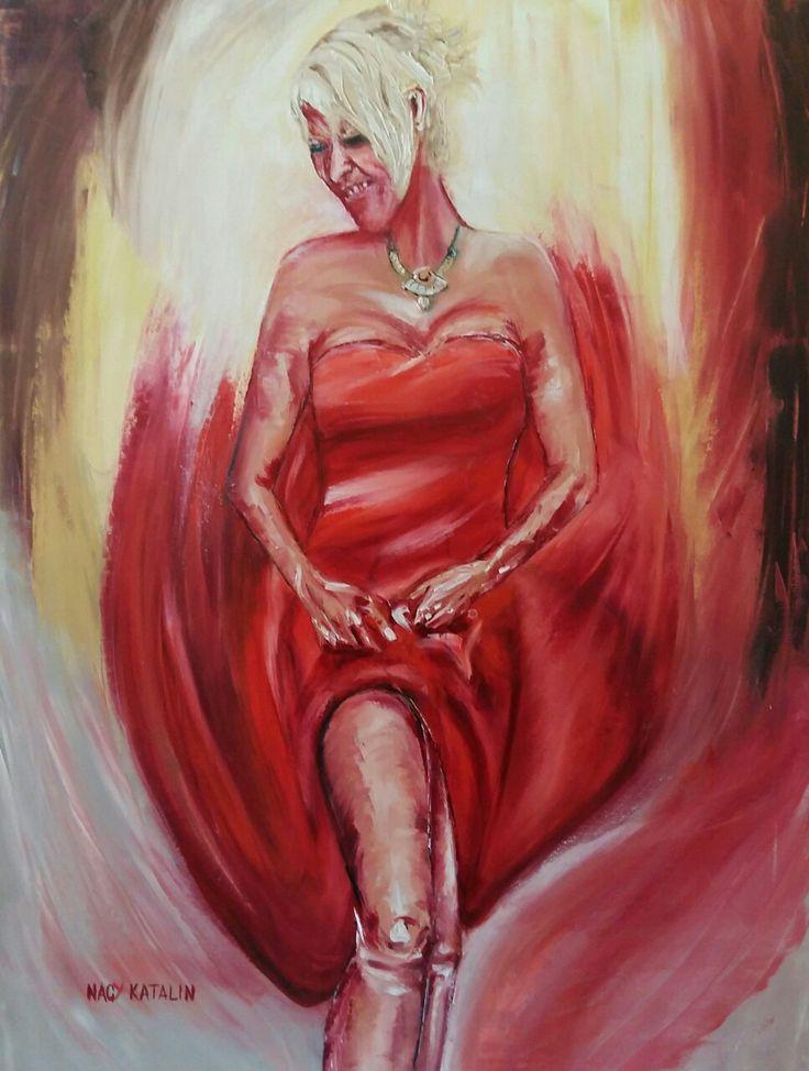 Anikó 70x50 oil canvas