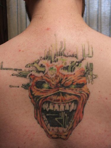 254 Best Images About Eddie Tattoos On Pinterest Rock Tattoo Soul Tattoo And Heavy Metal