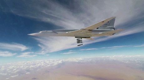 Six Russian long-range bombers strike ISIS targets in southeast Syria – military https://tmbw.news/six-russian-long-range-bombers-strike-isis-targets-in-southeast-syria-military  Six Russian long-range bombers have carried out airstrikes targeting ISIS terrorist positions in an area located close to the recently liberated Syrian city of Abu Kamal in the southeast of the country, the Russian Defense Ministry said.Read moreThe strikes destroyed Islamic State (IS, former ISIS/ISIL) hideouts and…