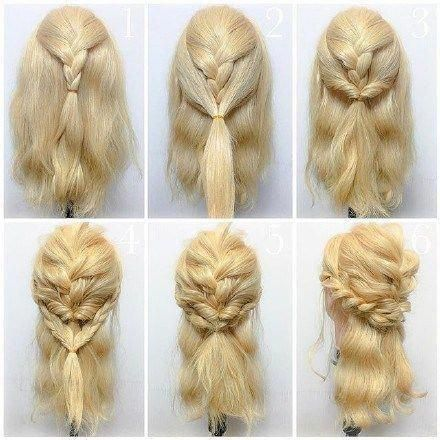 9 Step-by-step Hairstyle Tutorials #easyUpdos #Easyhairstyles   – Easy hairstyle…