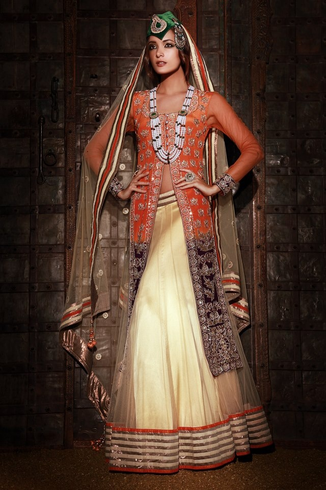 White Lehenga  Outfit by SF Collections