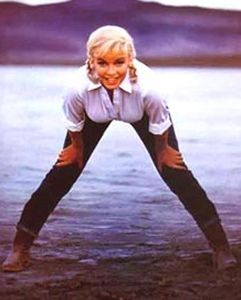 Marilyn Monroe Fashion Levi's Jeans