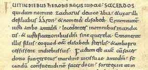 Minúscula carolingia - Wikipedia, la enciclopedia libre