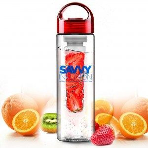 Savvy Infusion Water Bottle - Flavor your water, tea or sparkling drinks with fresh fruit, lemon or lime! www.openmindnutrition.com/how-to-start-get-and-be-healthy-for-beginners/