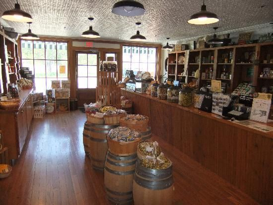 old general stores | Old fashioned candy for sale at the Glen Haven General Store - Picture ...