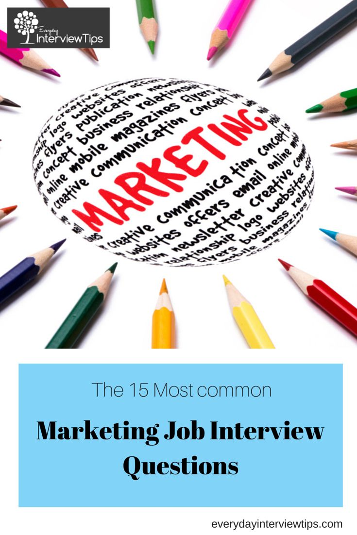 1000 images about interview tips questions answers on top 15 marketing job interview questions everydayinterviewtips com