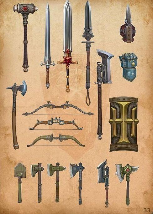 Оружие, артефакты, предметы быта – 143 фотографии