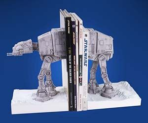 Star Wars AT-AT Bookends  Too expensive! $225.00