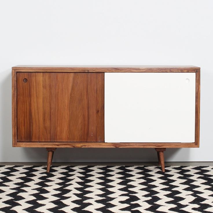 black, white & wood | mullan cabinet | home | vintage