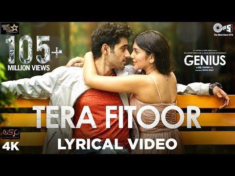 Tera Fitoor Lyrical - Genius | Utkarsh Sharma, Ishita