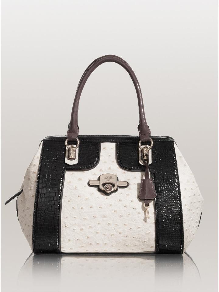 Authentic Guess Handbag Nixa Stone Multi 100 00 Ebay
