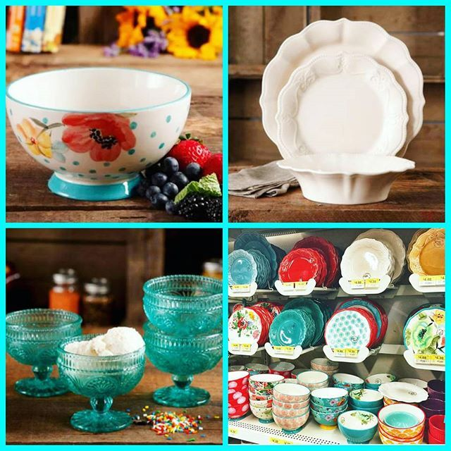 pioneer woman dishes white. swooning over the new pioneer woman collection at 😍💙 i think kinda need hobnail sundae cups and scalloped dishes. dishes white n