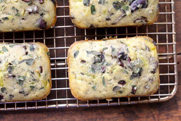 Karen's Kitchen Stories: Kalamata Olive and Oregano Mini Loaves