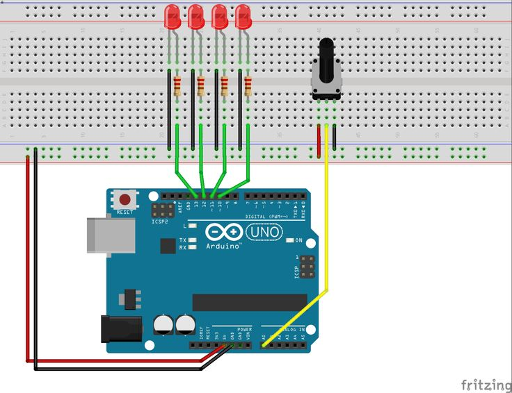 Arduino Basic (6) - AnalogRead 類比輸入 | Electronique