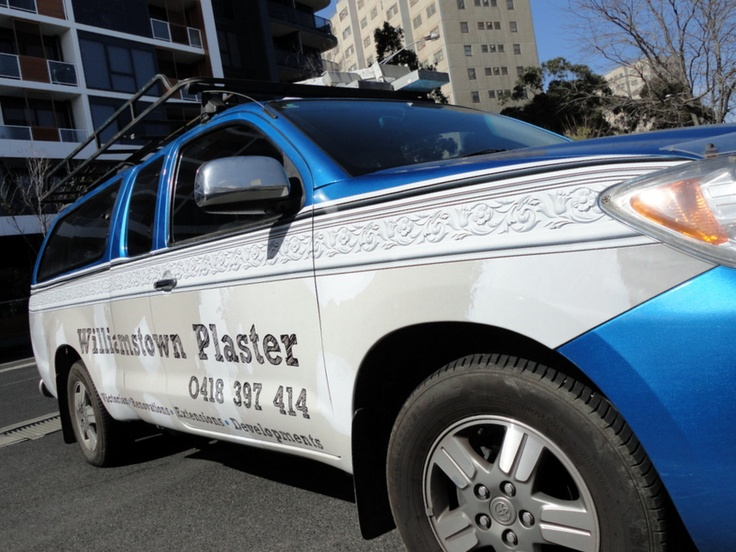 Williamstown Plaster, Vehicle Wrap, AutoSkin