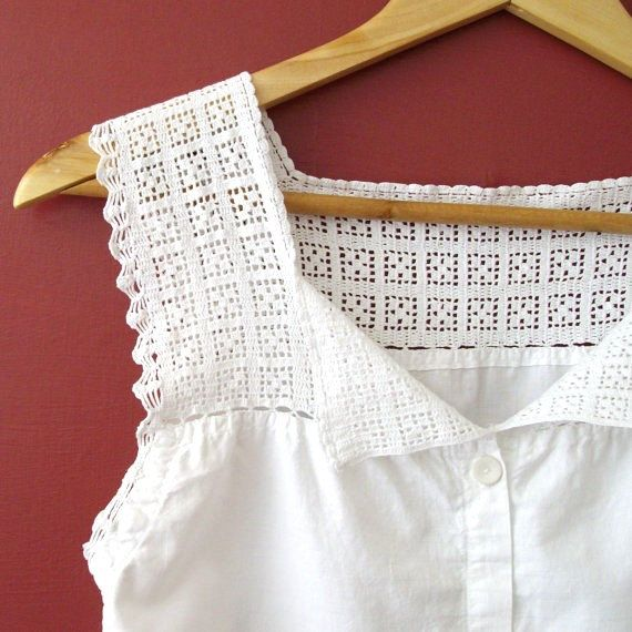 Corset covers or camisoles, as they became known in the later Victorian and Edwardian periods were worn over a ladys corset to protect the