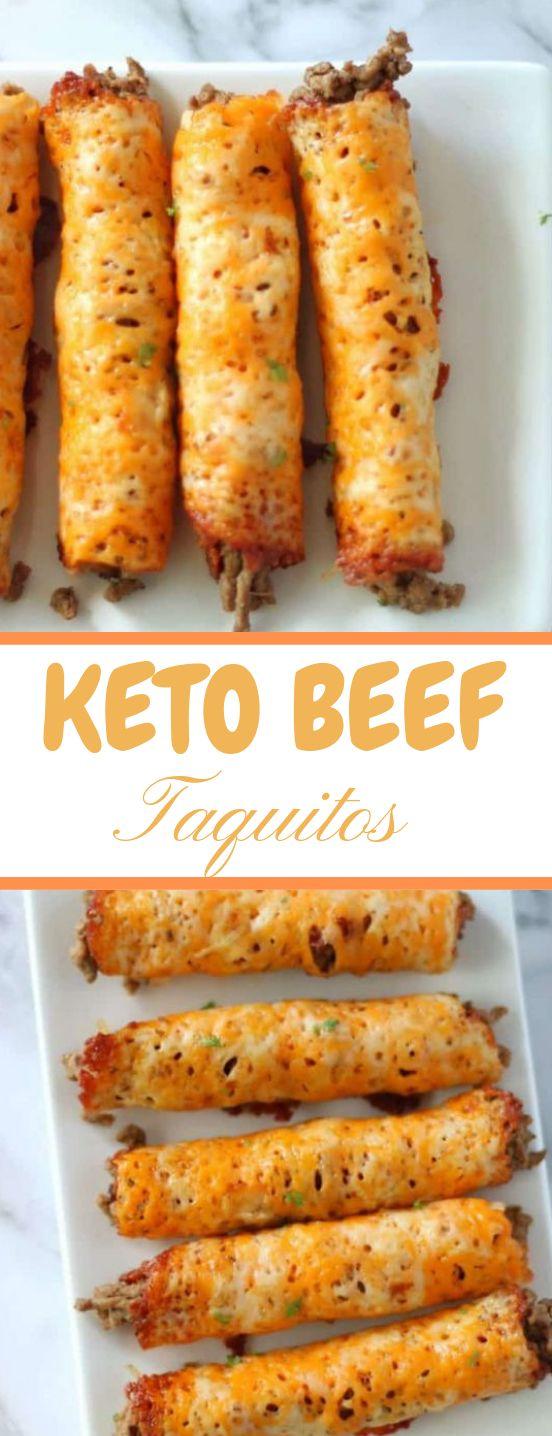 KETO BEEF TAQUITOS #diet #keto