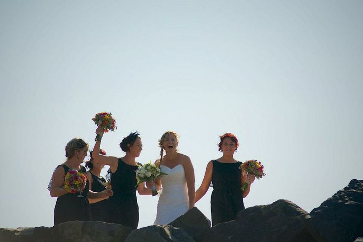 Kellie and her bridal party