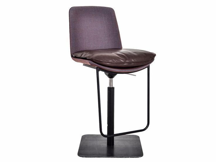 Upholstered height-adjustable chair LHASA | Chair by KFF
